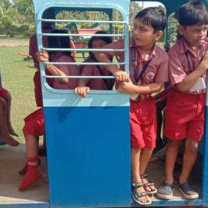 Field Trip for std. 1 to 4 students (Daji ni vadi)